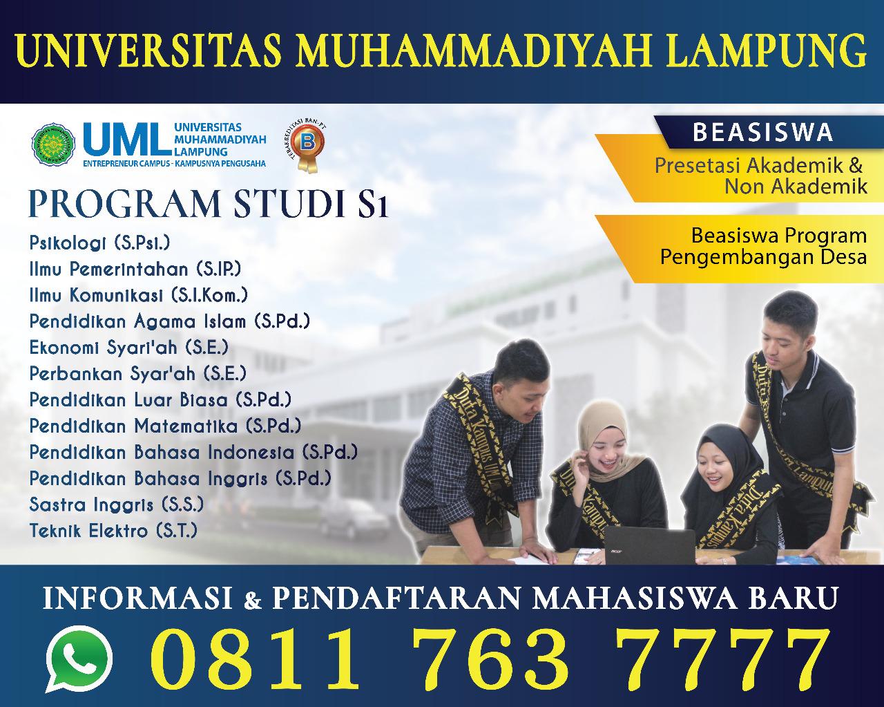 UNIVERSITAS MUHAMMADIYAH LAMPUNG