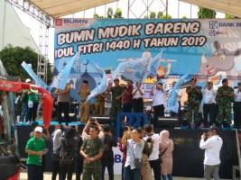 1.000 Pemudik LampungMudik Bareng Bank BRI