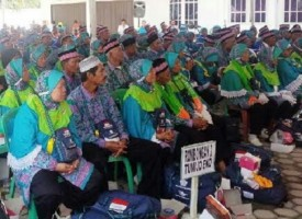 1.327 Jemaah Calon Haji Lampung Tengah Berangkat Tahun Ini