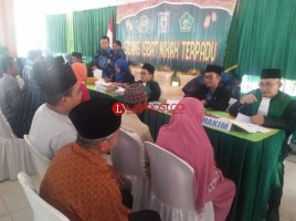 100 Pasutri Ikuti Sidang Isbat Nikah di Pendopo Pringsewu