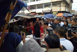 1001 Polisi Mengamankan Presiden Jokowi ke Lampung