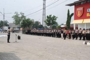 1.050 Polisi Kawal Laga Badak Lampung FC Versus Persebaya
