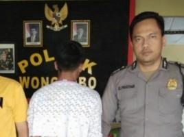 11 Kali Beraksi, DPO Spesialis Jambret Ini Dibekuk Polsek Wonosobo