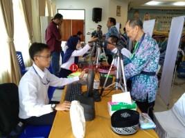 11 Petugas Disiapkan Lakukan Perekaman Biometrik JCH