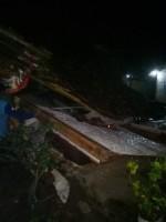 11 Rumah Roboh Diterpa Angin Kencang di Gadingrejo