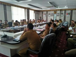 12 OPD Pemkab Lambar PaparkanRencana Program Prioritas TA 2020