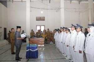 12 Penjabat Kepala Pekon di Pringsewu Dilantik