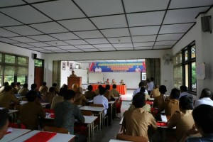 131 Juru Tulis di Lambar Ikuti Pelatihan Aparatur Pekon