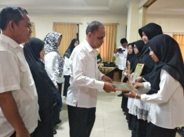 140 Mahasiswa STKIP Muhammadiyah Pringsewu Ikuti Yudisium