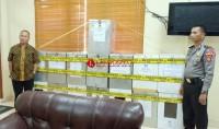 15 Kotak Suara Pilgub Tiba di KPU Lampung