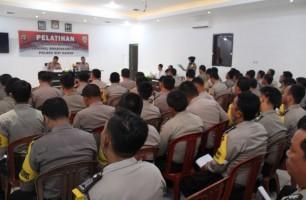 150 Bhabinkamtibmas Way Kanan Ikuti Pelatihan Penanganan Konflik Sengketa Lahan