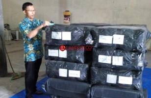 Sebagian Besar Logistik Pilgub Lampung Telah Tiba di Way Kanan