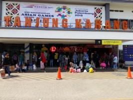 Sukseskan Asian Games, KAI Lampung Tebar Banner di Sejumlah Titik