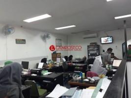 Gempa Pesibar Dirasakan Hingga di Kantor Pemprov Lampung