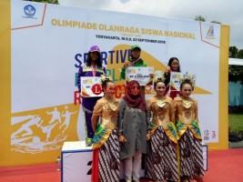 6 Atlet Junior PRSI Lampung Ikut Ajang O2SN di Jogyakarta