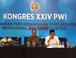 Atal Depari Nakhoda Baru PWI Pusat, Ilham Bintang Jabat Ketua DK