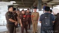 Kajati Lampung Kunjungi Pembangunan Kantor Kejari Pringsewu