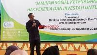Mahasiswa UIN Raden Intan Antusias Ikuti BPJS Ketenagakerjaan Mengajar