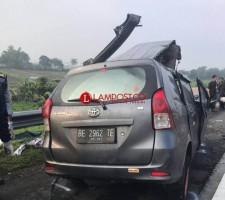 Pulang Liburan, Pelajar Bandar Lampung Kecelakaan, 2 Tewas