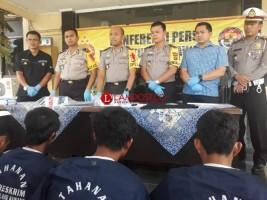 Polres Tulangbawang Ungkap Delapan Kasus Kriminal