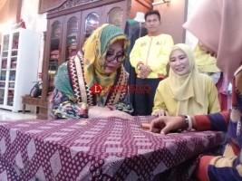 Tutut Soeharto Borong 70 Lembar Tapis Lampung