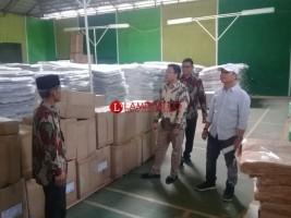 90 Persen Logistik Pemilu Tiba di Lampura