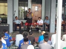 Kapolres Lampung Utara Kunjungi Lapas dan Rutan