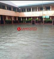 Diguyur Hujan, Sejumlah Wilayah di Bandar Lampung Tergenang