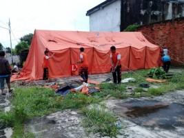 Pemkab Lampura Siapkan Tenda dan Posko Pengungsian