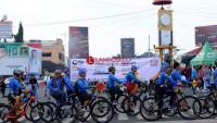 Kantor Pelayanan Pajak Tanjung Karang Kampanyekan Efiling Lewat Bersepeda