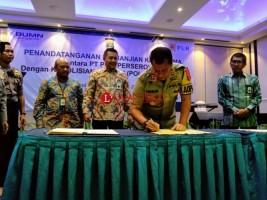 Polda Lampung Dukung Pengamanan Aset PLN