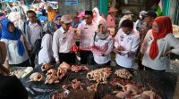 Jelang Ramadan, Pemkab Lamsel Lakukan Monitoring Harga Sembako di Pasar