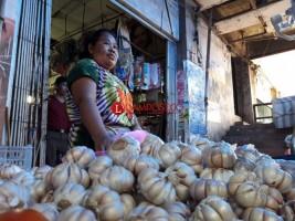 Harga Bawang Putih di Bandar Lampung Mulai Turun di Kisaran Rp50 Ribu