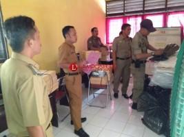 Distribusi Logistik Pilkades Lamsel Sampai Ditingkat Kecamatan