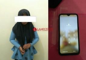 Curi HP, Remaja Putri di Metro Ditangkap Polisi