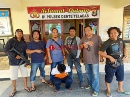 Pembantai Satu Keluarga Sembunyi di Tulangbawang