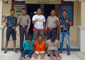 Aparat Bangkunat Tangkap Kawanan Pecuri Hewan Ternak