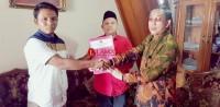 Juprius-Bustam Hadori Ambil Berkas Bakal Calon Bupati dan Wakil Bupati ke PDIP Way Kanan