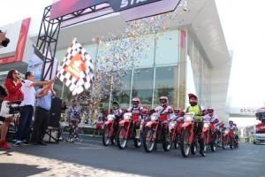 2.600 Bikers Adventure HondaSambut MXGP Indonesia