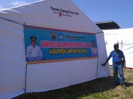 Dua Sekolah Dasar di Lampung Selatan Rusak akibat Tsunami