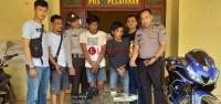 2 Tersangka Spesialis Curanmor Bersenpi Ditangkap di Rawajitu Selatan