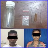 2 Warga Karang Endah Ditangkap Polisi Saat Hendak Pesta Sabu