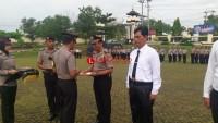 22 Anggota Polres Lampung Utara Dapat Penghargaan