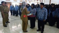 229 Pegawai di Lamtim Terima Petikan SK Pengangkatan PNS