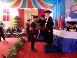 239 Mahasiswa STKIP Muhammadiyah Pringsewu Diwisuda
