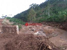 26 Unit Jembatan di Pagardewa Rusak Diterjang Banjir Bandang