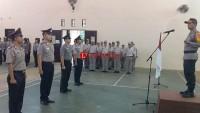 28 Bintara Polres Lampung Utara Naik Pangkat