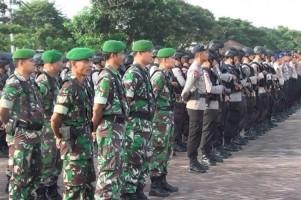 288 Personel Gabungan Siap Mengamankan Pleno KPU Way Kanan