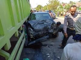 3 Kendaraan Kecelakaan Beruntun diJalinsum , 3Orang Luka Berat