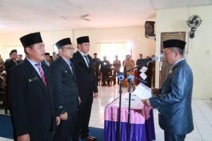 3 Pengganti Antar Waktu Anggota DPRD Pesisir Barat Dilantik